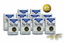 NIC-OUT Cigarette Filters & Holders,Remove Tar & Nicotine 10 Packs (300 Filters)