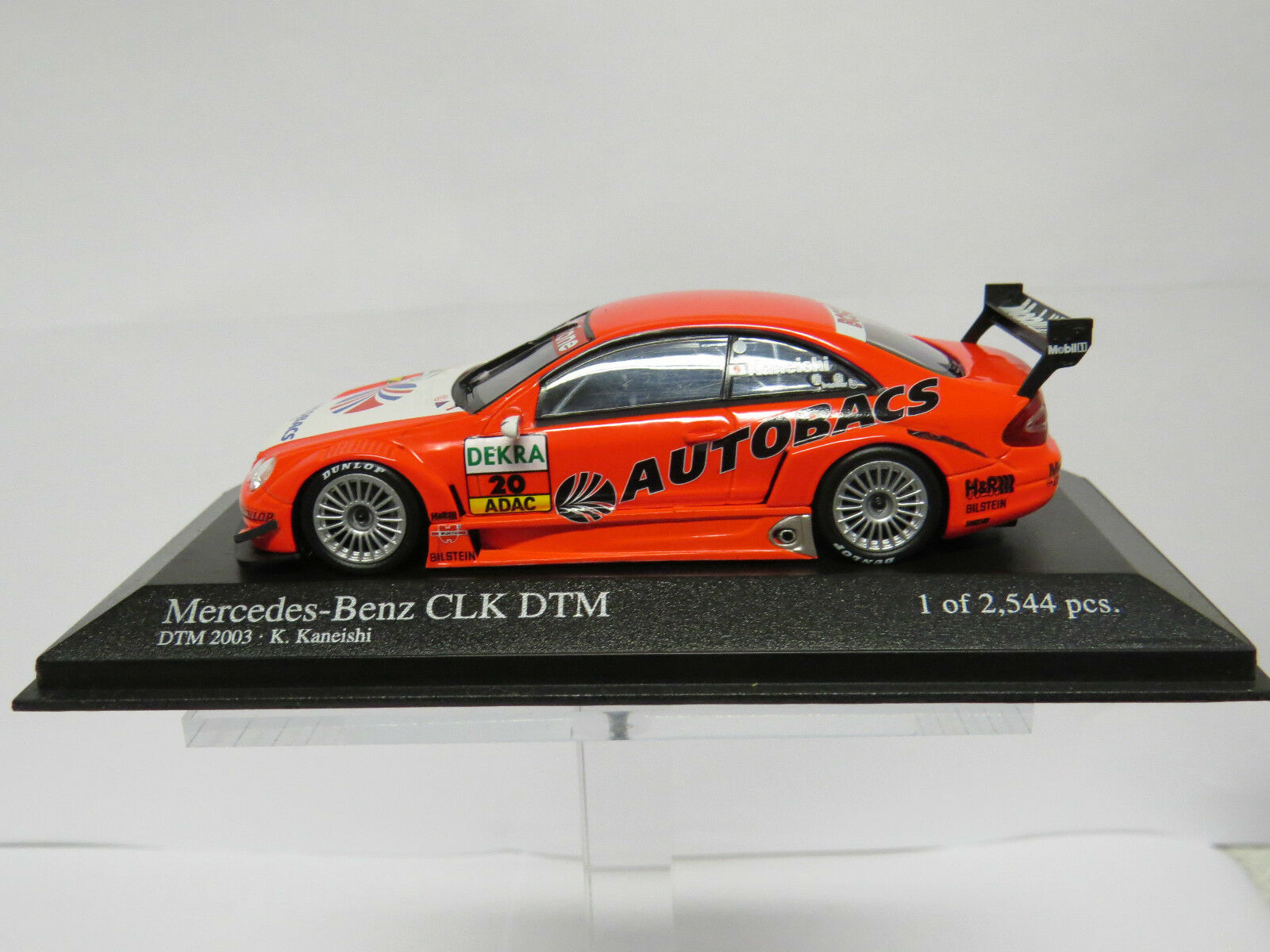 Mercedes-Benz CLK DTM 2003 K. K. K. Kaneishi 1 43 'Arta' Team Persson  Nr. 400033220 6a7b36