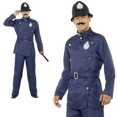 47006 Adult Fancy Dress Victorian London Bobby Policeman Police Officer Hat