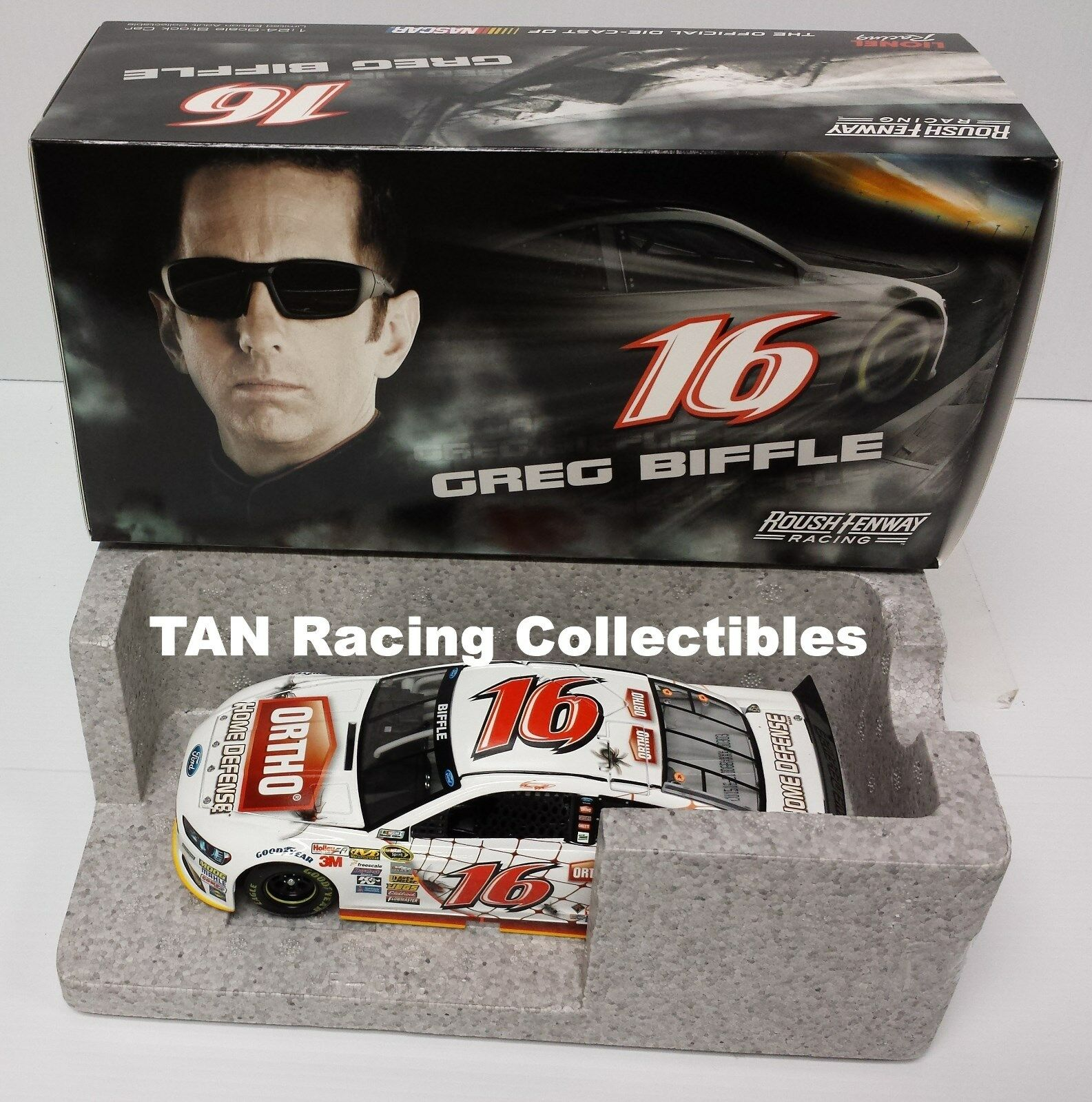 Greg Biffle 2015 Lionel Action Ortho Home Defense Diecast 1 1 1 24 FREE SHIP b175a8