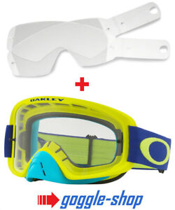 Fit All 100/% Adults Motocross MX Goggles 100/% Laminated Tear Offs Pack of 14