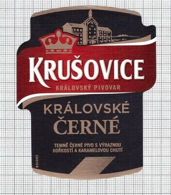 CZECH Brewery Radegast,Nosovice RATAR 2020 beer label C2298 019