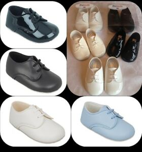 BABY-BOYS-PRAM-SHOES-TODDLER-LACES-CHRISTENING-BAPTISM-WEDDING-PARTY-BAYPODS