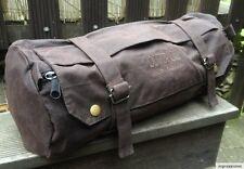42cm Wax Wachs Lenker Sattel Pack TASCHE Toolbag Werkzeugrolle Harley Chopper