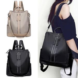 ba55c2acf6 Image is loading Handbag-Fashion-Women-Backpack-Travel-Shoulder-Bag-Girls-
