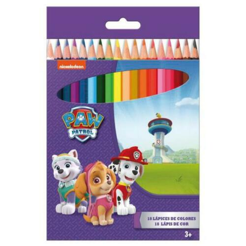 8148 BLISTER 18 LAPICES DE COLORES PATRULLA CANINA