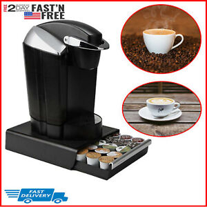 K-Cup-Pod-Drawer-Organizer-Coffee-Storage-Holder-Rack-Stand-Dispenser-30-K-Cups