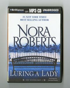 Luring-a-Lady-by-Nora-Roberts-MP3CD-Audiobook
