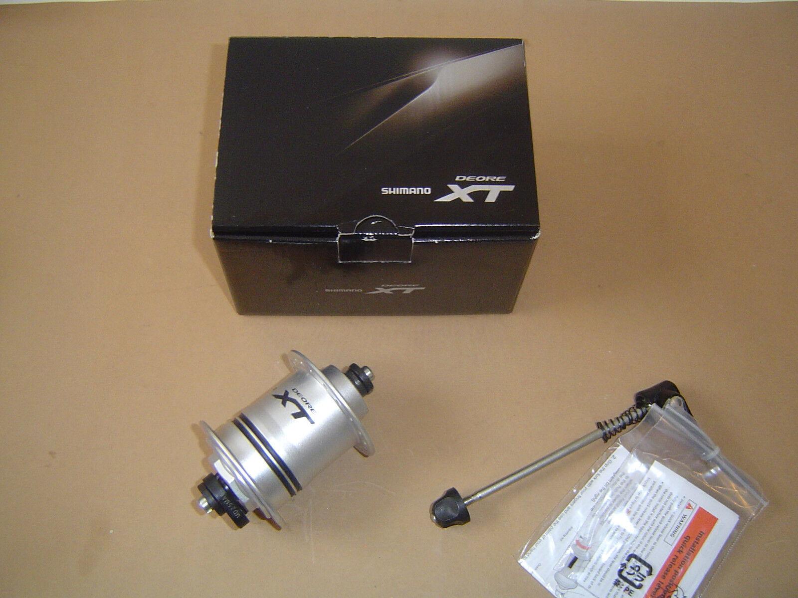 Shimano Deore XT DH-T780-1N Nabendynamo LED 1,5 Watt 32 36 Loch Silber OVP Neu