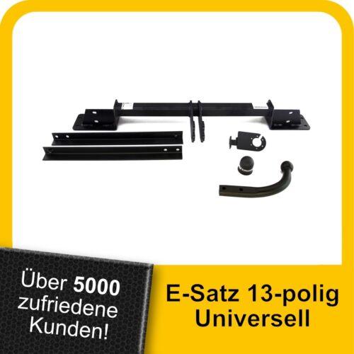 AHK Fiat Linea Stufenheck 07-15 Kpl Anhängerkupplung starr+ES 13p uni