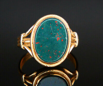 Graduation ring,vintage graduation ring,blood stone ring,signet ring,mans dress ring,vintage dress ring