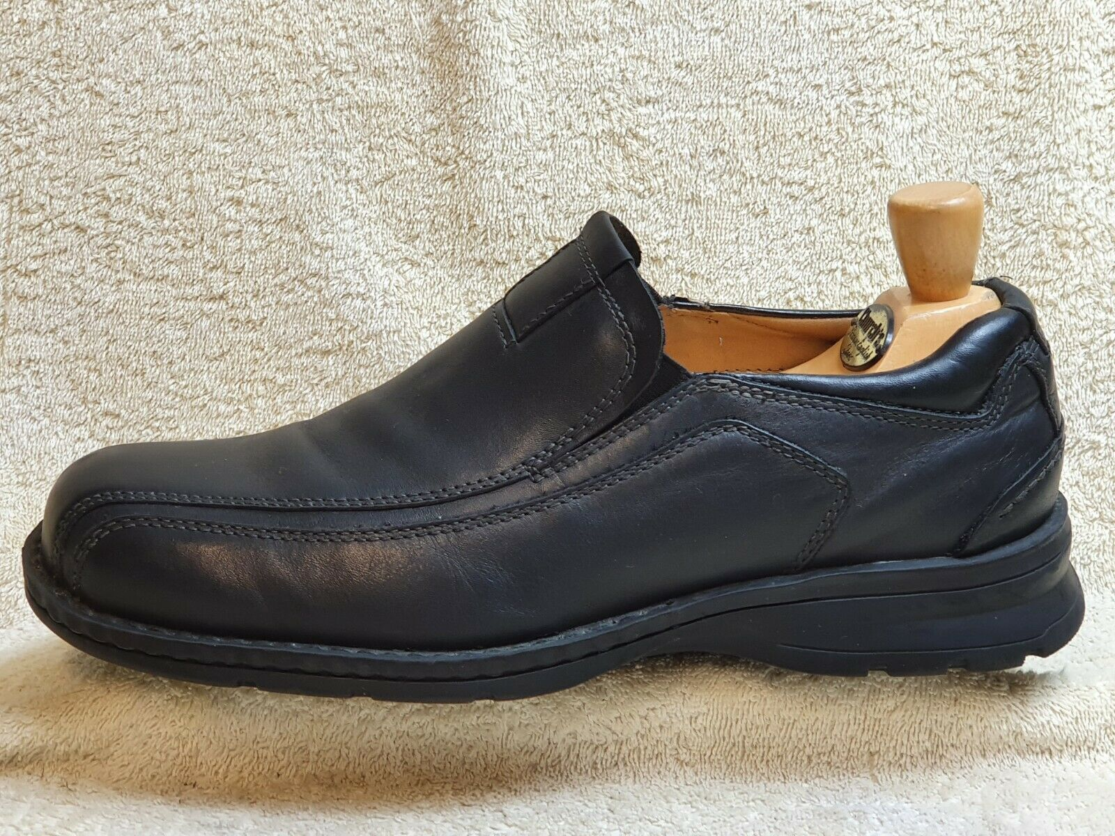 Dockers mens Comfort Loafer Leather Black UK 8.5 EUR 42.5 US 9