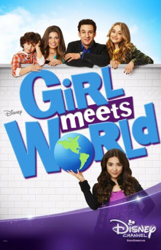 005 DISNEY KIDS POSTER PIXAR GIRL MEETS WORLD POSTER 2 Sizes Available
