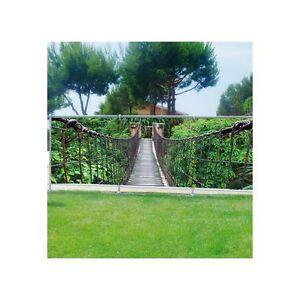 Brise vue déco imprimé pour jardin, balcon ou terrasse Passerelle ...