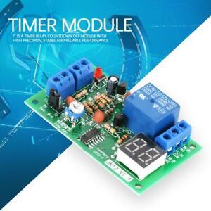 Modulo-de-rele-con-temporizador-retrasado-de-comando-DC12V-Pantalla-LED