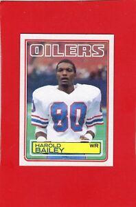 1983-topps-football-272-Harold-Bailey-Houston-Oilers-nmt-mnt