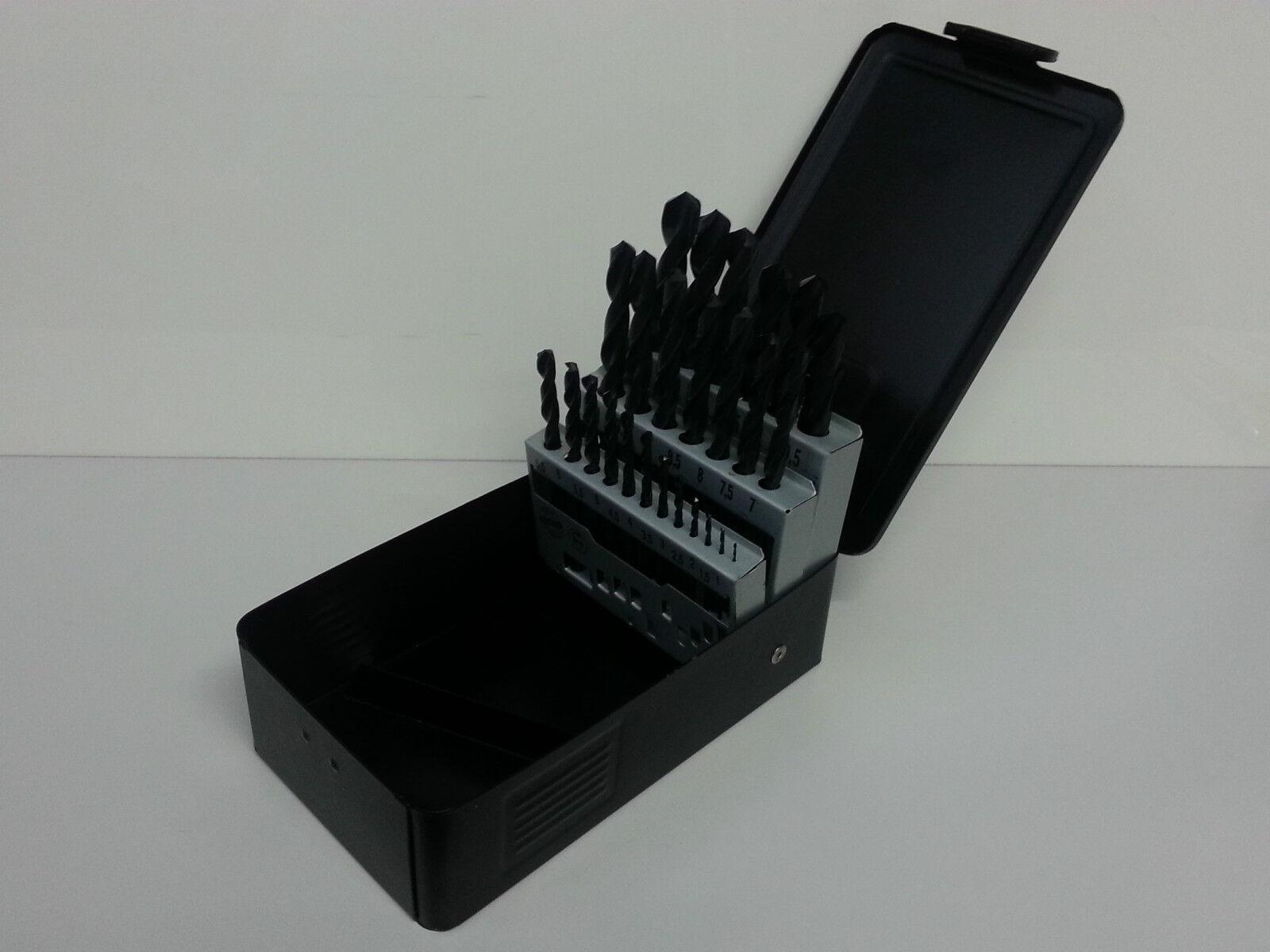 Milwaukee Metal HSS-R 25 Piece Drill Set, DIN 338,  4932352469