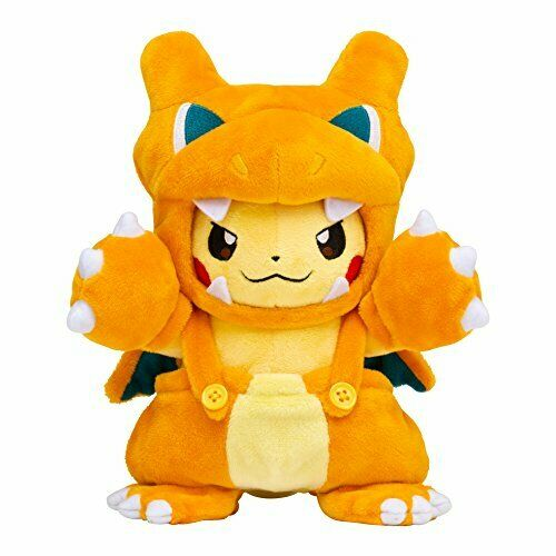 Pokey Center Plush Doll Charizard-Maniac Pikachu