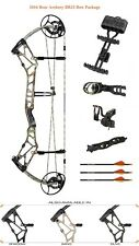 New 2016 Bear Archery BR33 55-70# Right Hand Compound Bow Package Sand