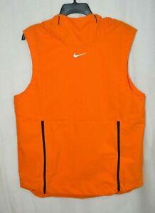Details about Nike Men's Alpha Fly Rush Brigh Orange/Black Vest  (908420-873) Sizes M/L/XL