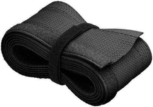 1,8 m cable flexible abrigo/negro/manguera de cable (2 unidades)
