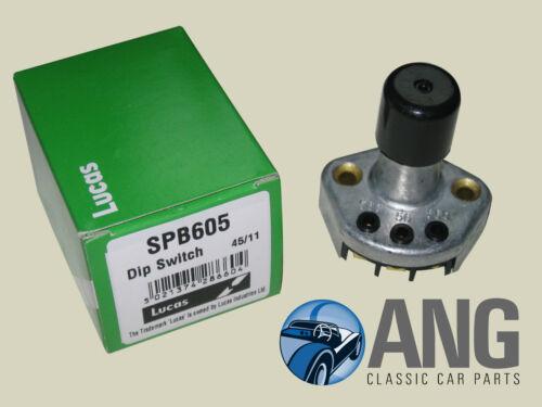 TR4 Faros Lucas 502087 Suelo Montado Conmutador Dip TS60001 /> TRIUMPH TR3A