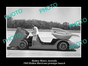 OLD-POSTCARD-SIZE-PHOTO-OF-GMH-HOLDEN-HURRICANE-PROTOTYPE-LAUNCH-c1969-3