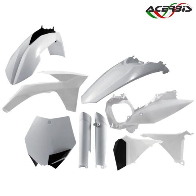 Acerbis Full Set Plástico Blanco KTM 505 Sxf 4T 2011-2012