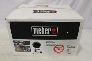 """Weber Original Kettle Charcoal Grill 22"""" Black"""
