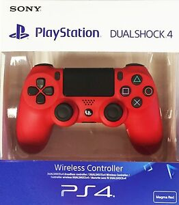 PS4-DualShock-4-Controller-Magma-Red-V2-BRAND-NEW-SEALED-OFFICIAL-PAL