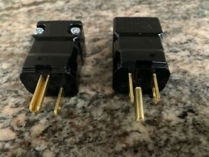 HUBBELL-HBL5965VBLK-Qty-of-2-per-Lot-Power-Entry-Connector-2P3W-Grounding-NEM