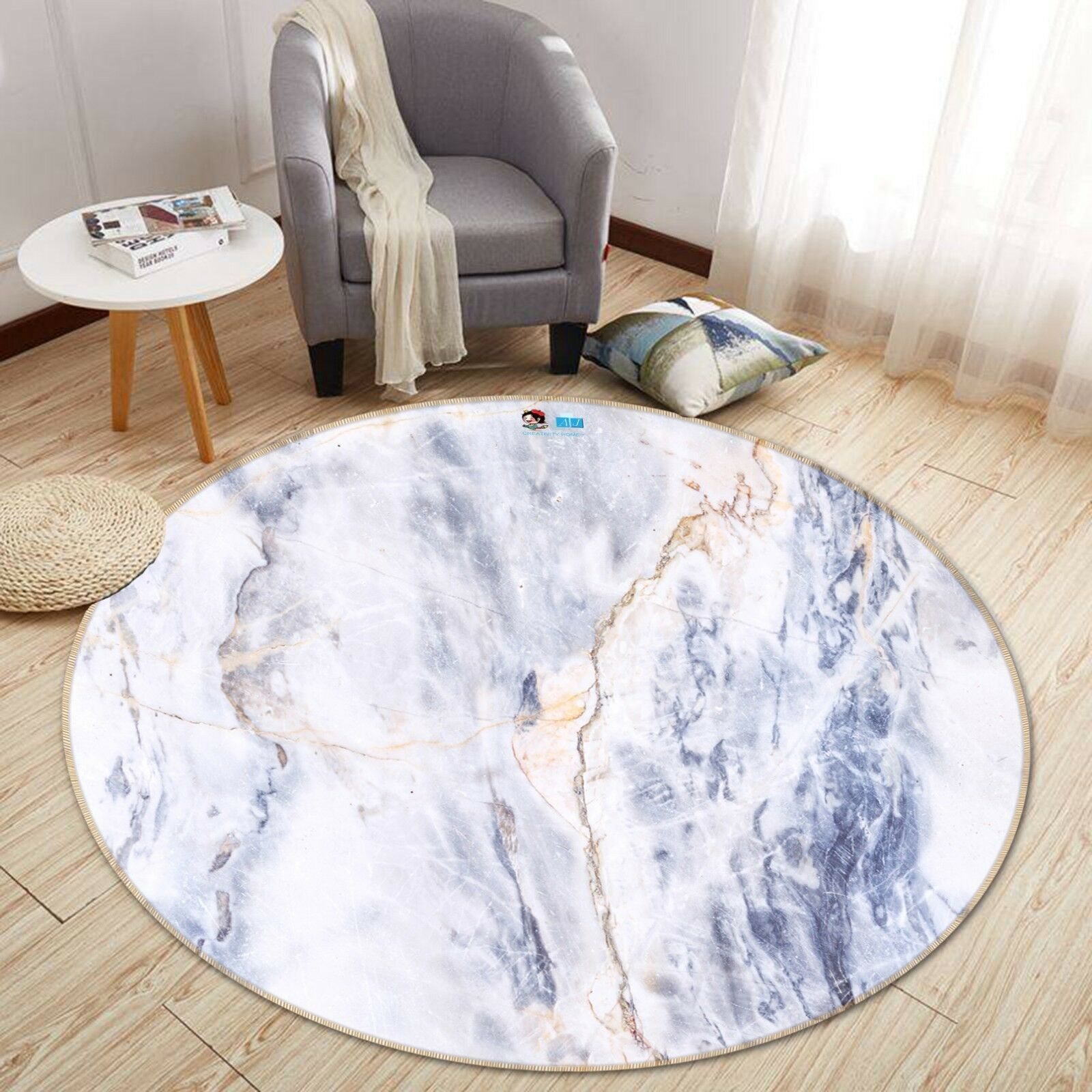 3d arte texture 3 antiscivolo tappeto bagagliaio giri elegante TAPPETO de