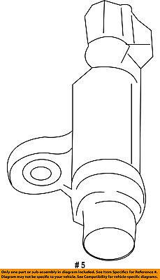 CHRYSLER OEM-Engine Crankshaft Crank Position Sensor CPS 5149167AE