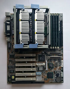 Details about HP NetServer E60 EDC-4005 Mobo with 2X PIII 600MHz CPU and  1GB RAM - Test OK!