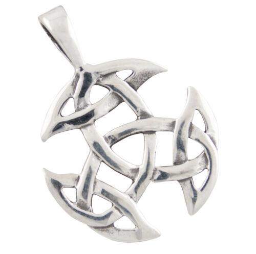 Motif Celtique Pendentif en Argent 925 b369