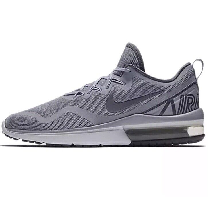 NIKE AIR MAX FURY MEN'S RUNNING SHOES WOLF GREY AA5739-004