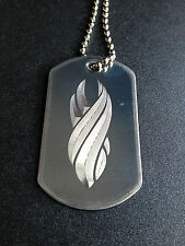 Dead Space The Marker Stainless Steel Dog Tag Necklace dead space necklace
