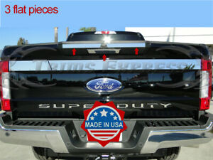 2017-2019-Ford-SuperDuty-F-250-Tailgate-Door-Handle-Cover-Accent-Trim-3Pc-w-C