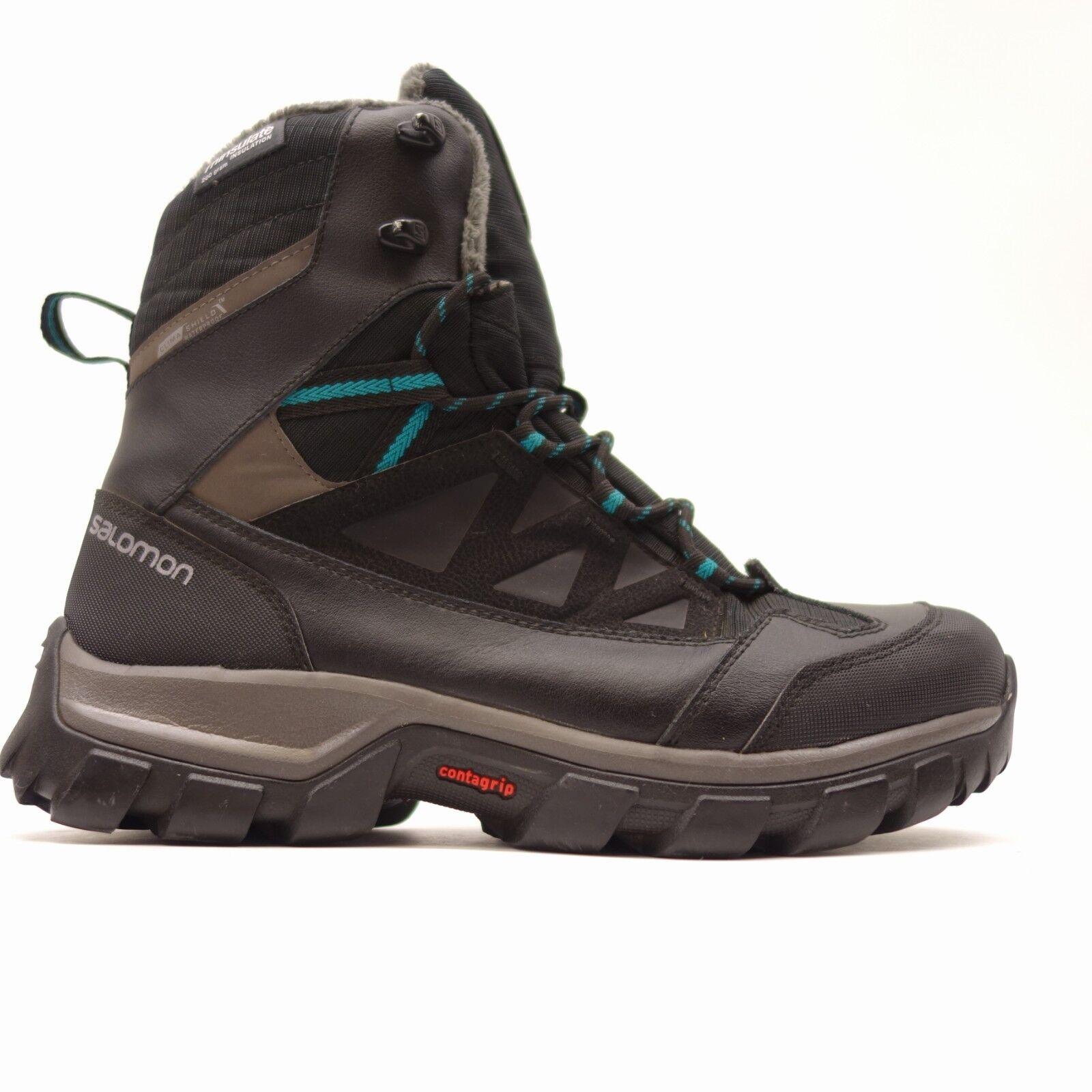Salomon Damenschuhe Chalten 9 Thinsulate Climashield Waterproof Winter Stiefel Größe 9 Chalten b5e0b9