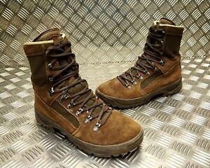 Genuine British Army  Meindl Liability Hi Leg Combat Desert Boots Brown Grade 2