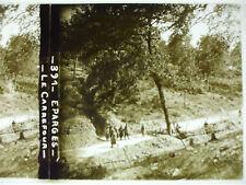 plaque photo guerre 14-18 éparges verdun meuse le carrefour poilus WWI
