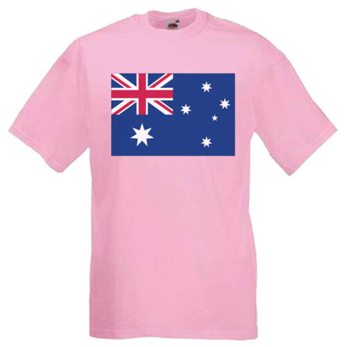 Australia Flag Children/'s Kids T Shirt