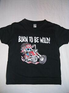 "Bambini T Shirt Con Biker Motivo ""NUOVO""  </span>"