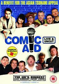 1 of 1 - Comic Aid (DVD, 2005)