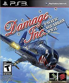 Damage Inc Pacific Squadron Wwii Sony Playstation 3 2012 For