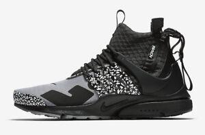 001 Mid Grijs Ah7832 Presto Heren Nike Zwart X Acroniem Air Cool n0wvmN8OPy