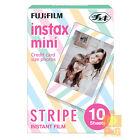 FUJIFILM INSTAX MINI INSTANT Instant FILM 1 PACK / STRIPE 4 8 25 SP-1 90 SP-2