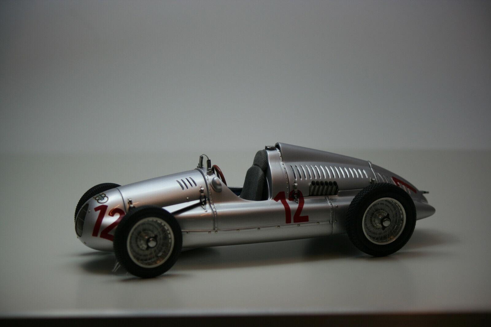 Audi Union Type D 1938 39 GP France Müller 1939 CMC 1 18 m-089 Ltd. Nouveau neuf dans sa boîte