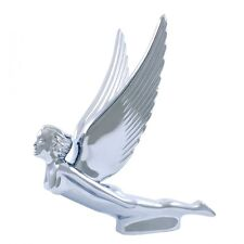 United Pacific Industries Chrome Flying Goddess Hood Ornament