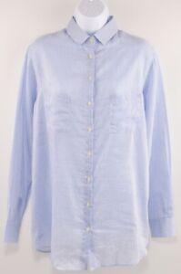 LACOSTE-Women-039-s-Lightweight-Summer-Shirt-Cotton-Silk-size-Large-FR-42